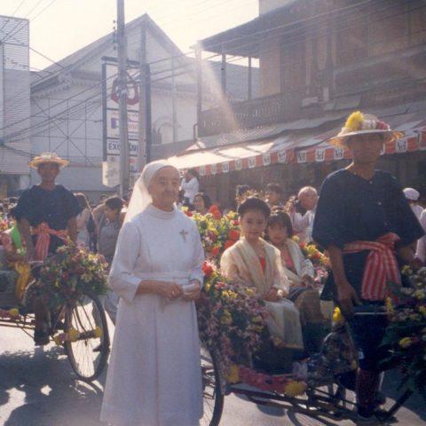 Február 1994 - Chiengmai - Festival kvetov