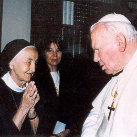 Rím 2000 - sr. Stanislava ako 90-ročná